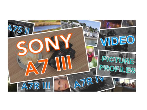 Sony A7 III, A7S II, A7R IV Picture Profiles for Video