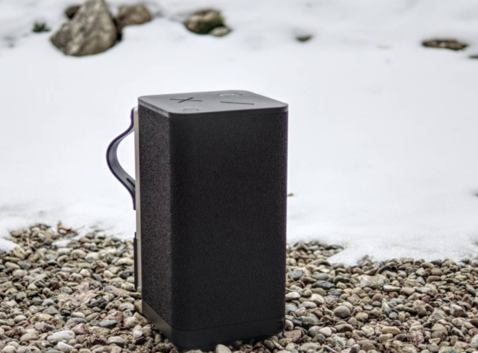 Ultimate Ears HYPERBOOM cranks the bass in a clever Bluetooth speaker