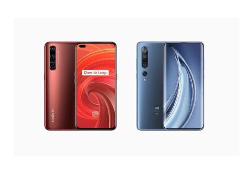 Realme X50 Pro 5G vs Xiaomi Mi 10 Pro 5G specs comparison