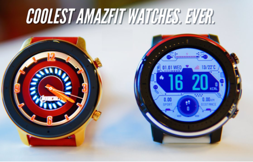 Amazfit GTR Iron Man Vs Amazfit Stratos 3 Star Wars: A Comprehensive Comparison Between Two Huami-Featured Wrist Wearables