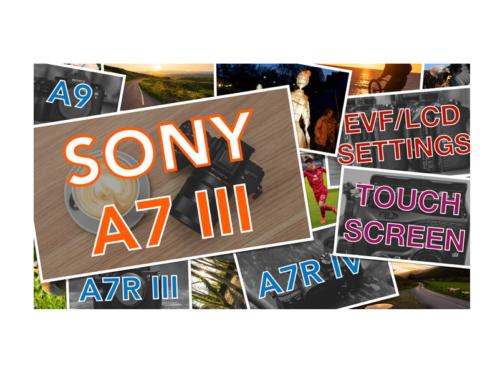 Sony A7 III, A7R III, A9 Video Settings Explained