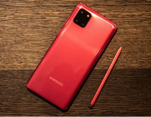 Samsung Galaxy Note 10 Lite Hands-On