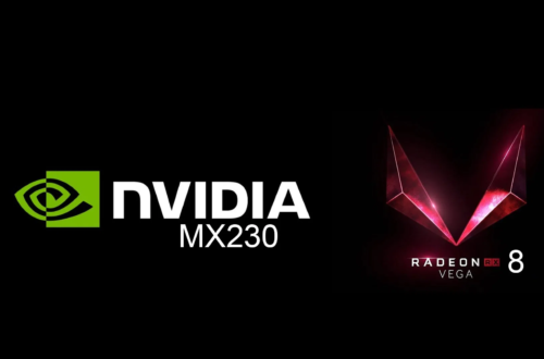 NVIDIA GeForce MX230 vs AMD RX Vega 8 – the NVIDIA GPU is almost 50% faster but Vega 8 is still fast for an iGPU