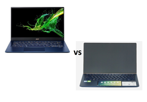 [In-depth Comparison] Acer Swift 5 Pro (SF514-54GT) vs ASUS ZenBook 14 UX434 – the battle of the compact laptops