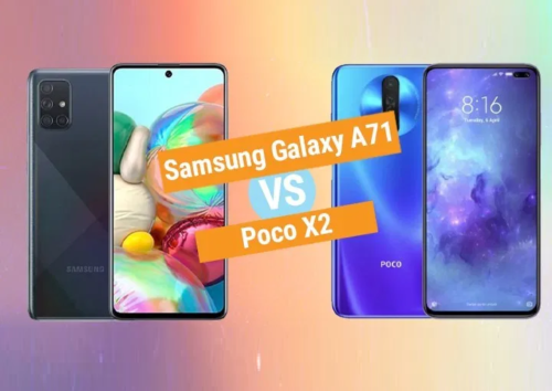 Samsung Galaxy A71 vs Poco X2 Specs Comparison
