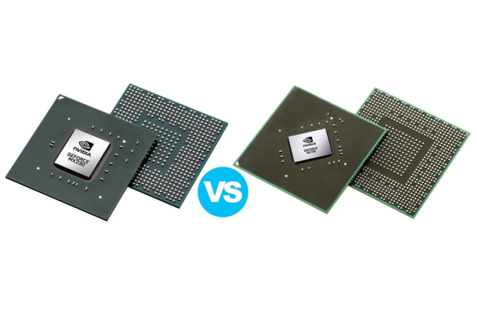 NVIDIA GeForce MX230 vs MX130 – the MX230 is over 30% faster and isn't much more expensive