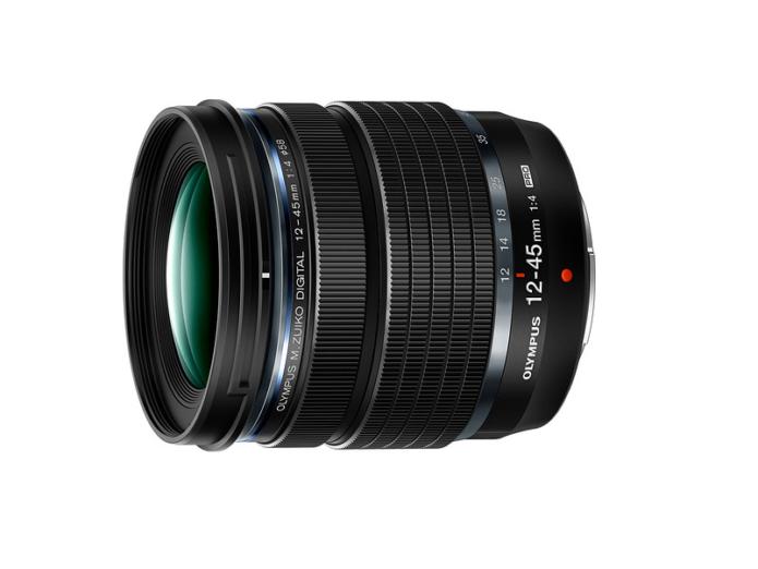 Olympus introduces lightweight 12-45mm F4 Pro lens
