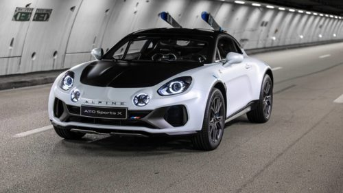 Alpine A110 SportsX shown off at 2020 International Automobile Festival