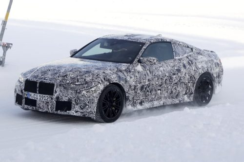 SPY PICS: BMW M4 Coupe goes 'big mouth'