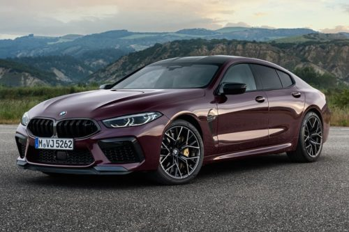 BMW M8 Gran Coupe priced