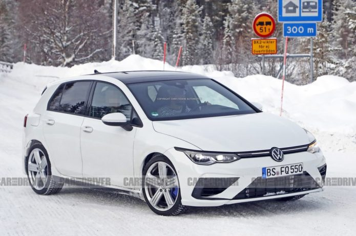 Here's the 2021 VW Golf R before Its July Debut