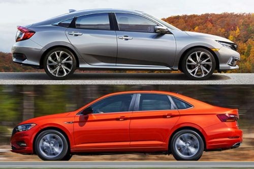2020 Honda Civic vs. 2020 Volkswagen Jetta: Which Is Better?