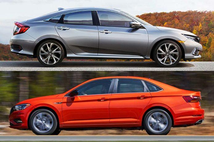 2020 Honda Civic vs. 2020 Volkswagen Jetta