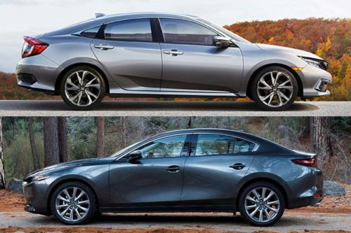 2020 Honda Civic vs. 2020 Mazda3: Which Is Better?