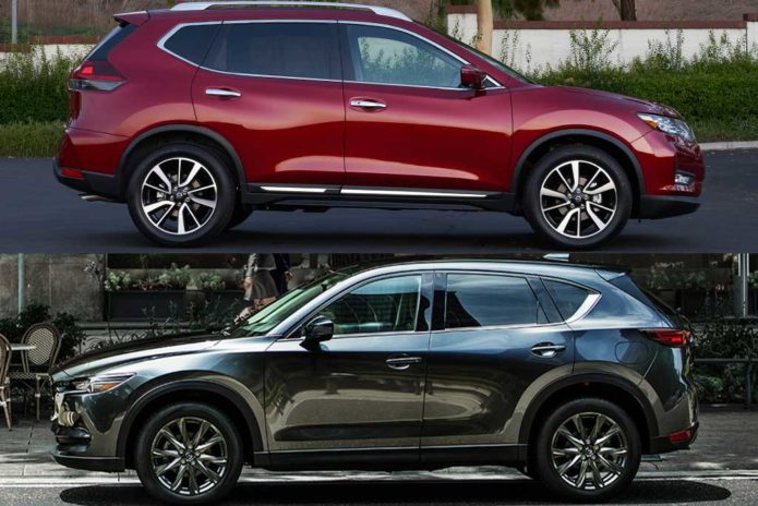 2020 Nissan Rogue VS 2020 Mazda CX-5