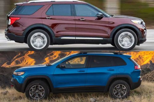 2020 Ford Explorer vs. 2020 Jeep Cherokee: Which Is Better?