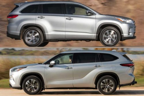2019 vs. 2020 Toyota Highlander: What's the Difference?