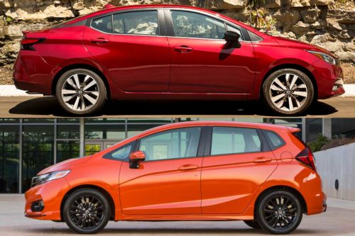 2020 Nissan Versa vs. 2020 Honda Fit: Which Is Better?