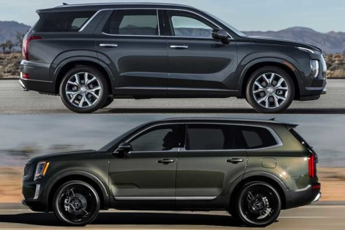 2020 Hyundai Palisade vs. 2020 Kia Telluride: What's The Difference?