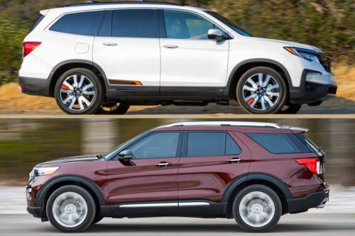 2020 Honda Pilot vs. 2020 Ford Explorer: Which Is Better?