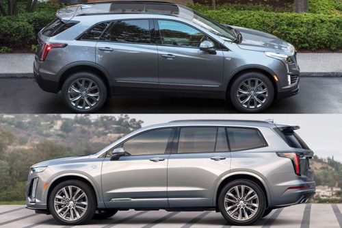 2020 Cadillac XT5 vs. 2020 Cadillac XT6: What's the Difference?
