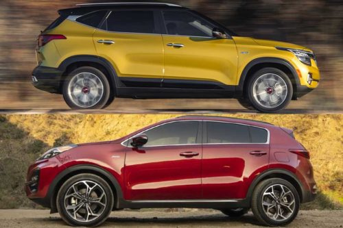 2021 Kia Seltos vs. 2020 Kia Sportage: What's the Difference?
