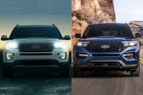 2019 vs. 2020 Ford Explorer: What's the Difference?