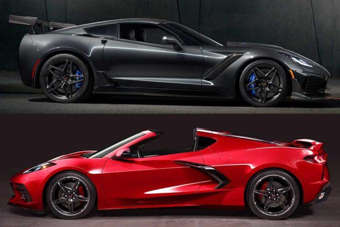 2019 Chevrolet Corvette vs 2020 Chevrolet Corvette