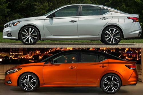 2020 Nissan Altima vs. 2020 Nissan Sentra: What's the Difference?