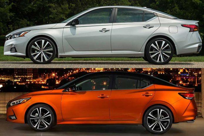2020 Nissan Altima vs. 2020 Nissan Sentra
