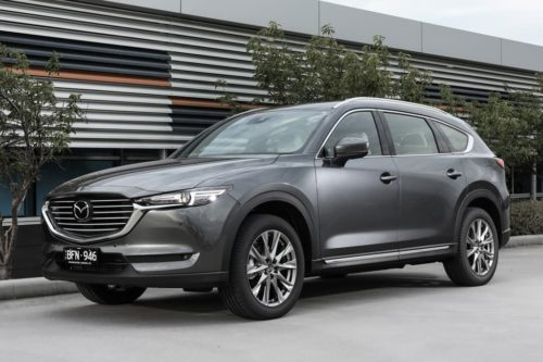 Petrol Mazda CX-8 announced