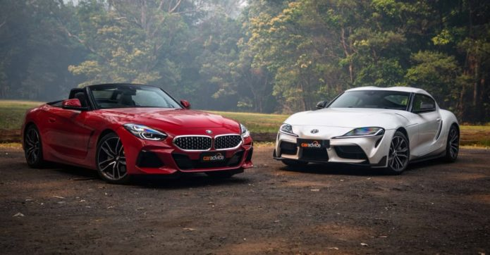 2020 BMW Z4 sDrive20i v Toyota GR Supra GT comparison: Brothers at arm's length
