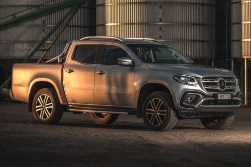 Mercedes-Benz X-Class ute dropped