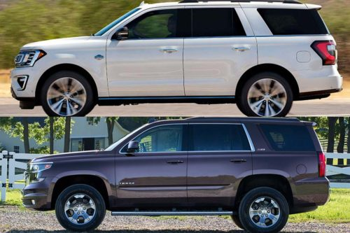 2020 Ford Expedition vs. 2020 Chevrolet Tahoe: Which Is Better?