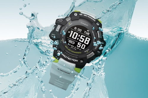 The Casio G-Shock is a true smartwatch with heart-rate sensor and notifications