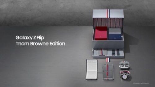Galaxy Z Flip Thom Browne Edition is for dedicated followers of fashion