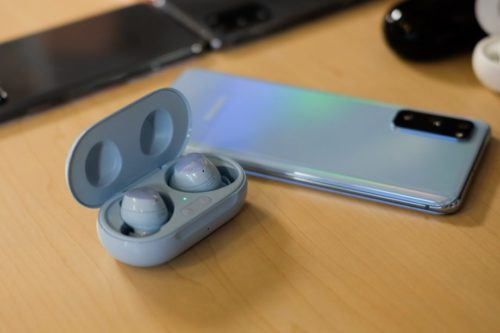 The Galaxy Buds Plus don't really support multi-device connection