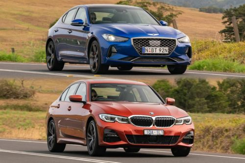 2020 BMW 330i M Sport v Genesis G70 V6 Ultimate Sport Comparison