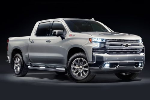 New Chevrolet Silverado 1500 available next month