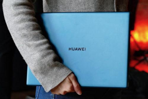 Huawei's new MateBook X Pro laptop comes in envy green, still has pop-up webcam