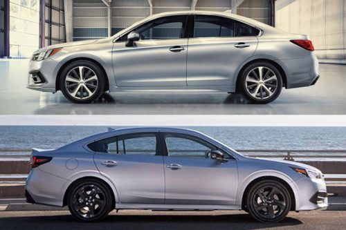 2019 vs. 2020 Subaru Legacy: What's the Difference?