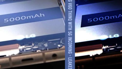 LG V60 ThinQ 5G leaked: Monster battery, headphone jack, 4x mics