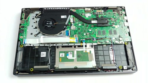 Inside ASUS ZenBook Flip 14 UM462 – disassembly and upgrade options