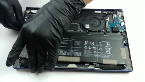 Inside HP Elite Dragonfly G1 – disassembly and upgrade options
