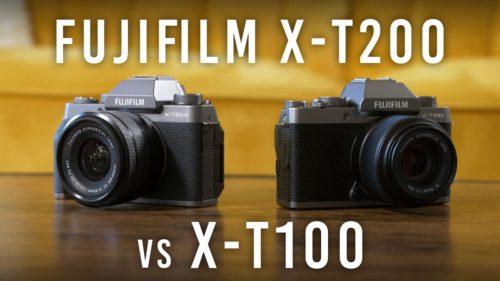 Fujifilm X-T100 vs X-T200 – The 10 Main Differences