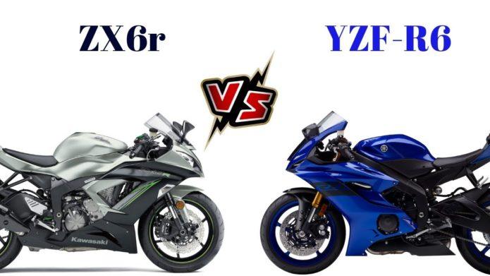Kawasaki ZX-6R vs. Yamaha YZF-R6