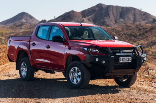 2020 Mitsubishi Triton price and spec