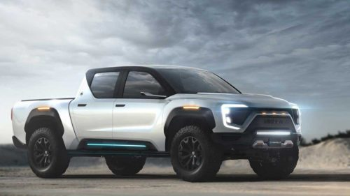 Nikola Badger pickup can run on hydrogen or electricity