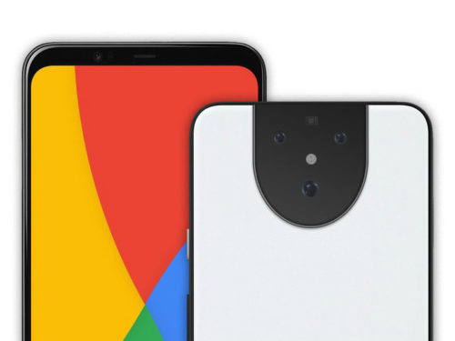 Here's another look at the Pixel 5 XL prototype's… face