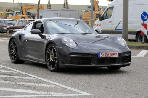 SPY PICS: New Porsche 911 Turbo undisguised